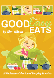 Enter CeliacCorner Giveaway of Kim Wilson's new recipe e-book Good and Easy Eats