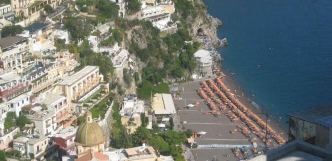 Gluten-Free in Positano, Italy – a review of Il Fornillo Restaurant